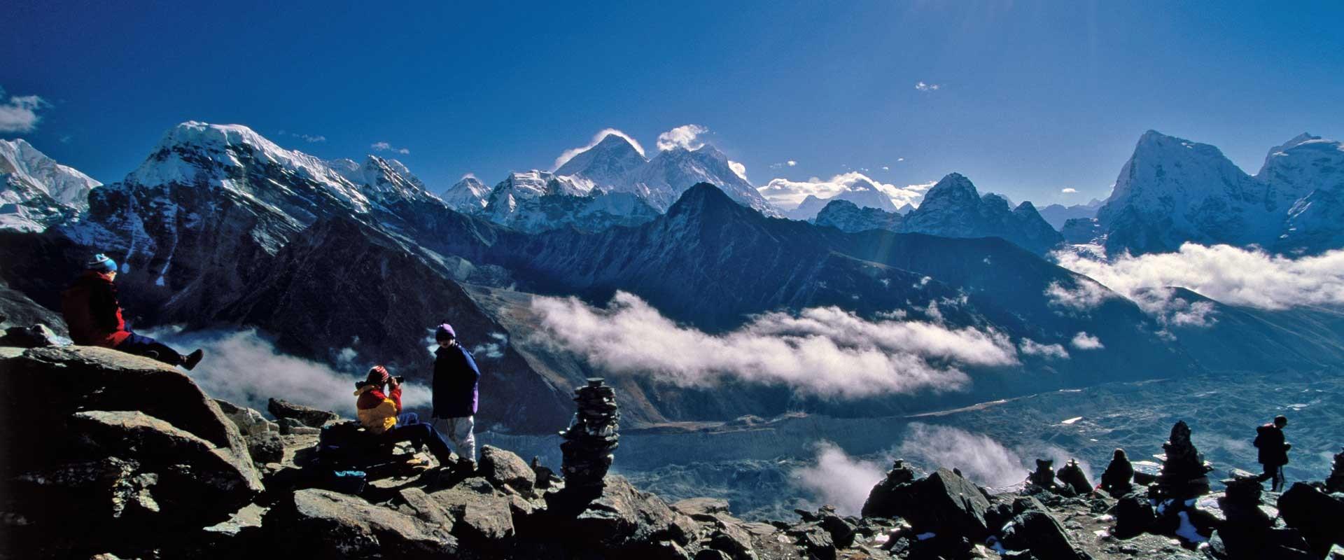 trekking at Nepal